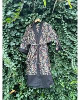 Kimono Wildflower Black