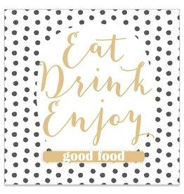 Arte Bene Servietten Eat Drink