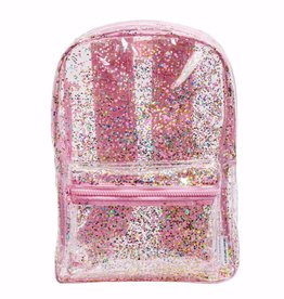 A Little Lovely Company Backpack glitter pink