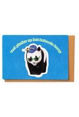 Enfant Terrible Kaart kamp veel plezier panda