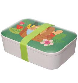 Puckator Lunch box bamboo luiaard