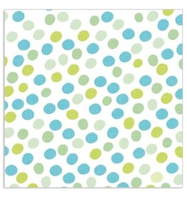 Arte Bene Servietten Dots all over Applegreen