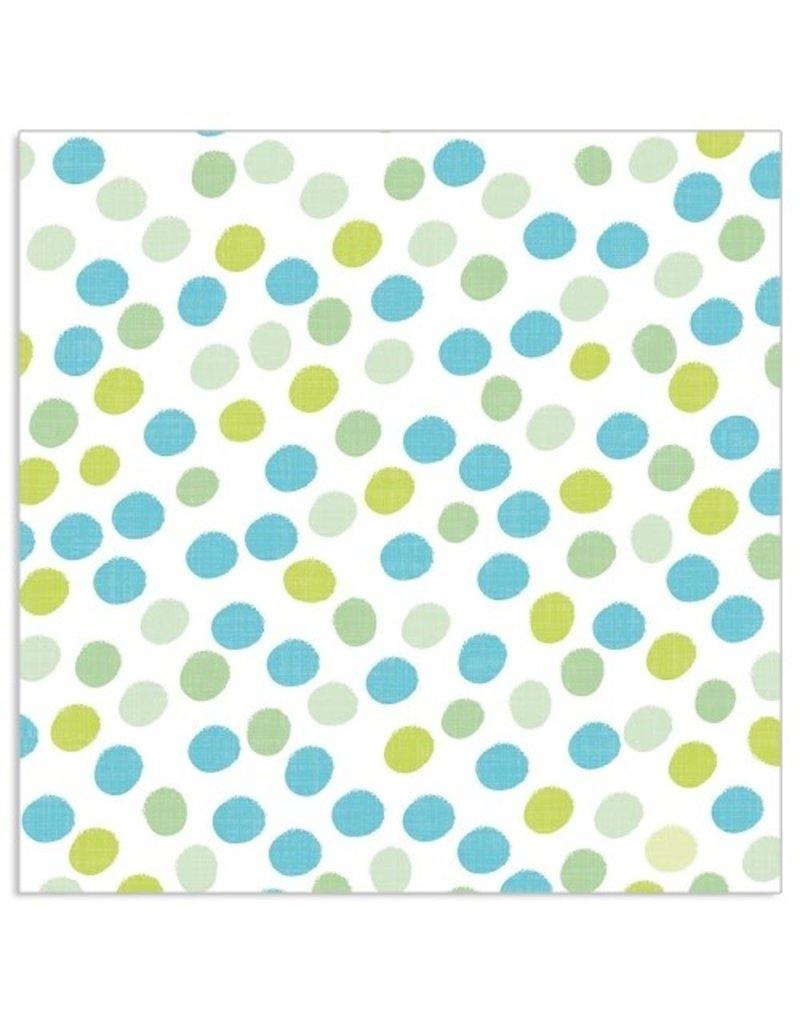 Arte Bene Servietten Dots all over Applegreen