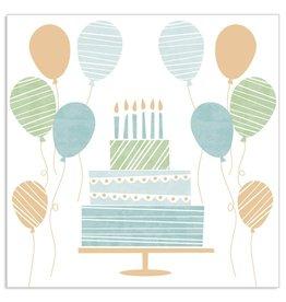 Arte Bene Servietten birthday cake