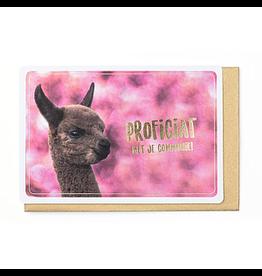 Enfant Terrible Kaart communie alpaca