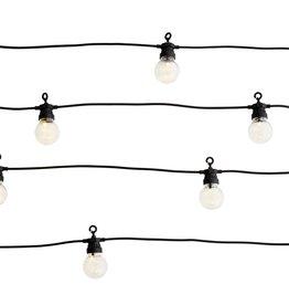 Madam Stoltz String lights black