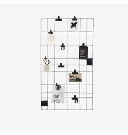 VT Wonen Memo Board Wire Black