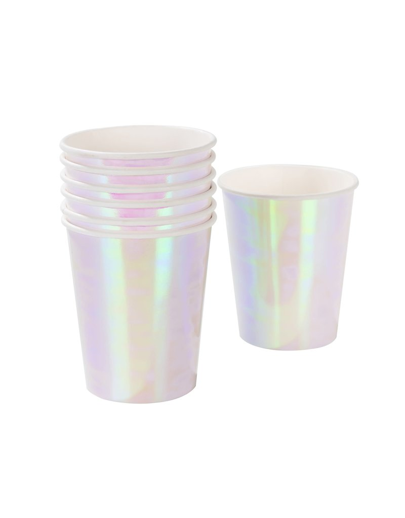 Talking Tables Party cups iridescent