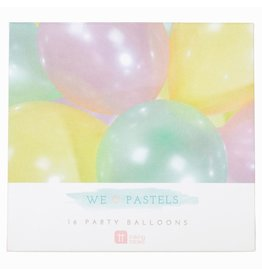 Talking Tables Party balloons pastel