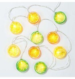 Talking Tables Fruit slice lights