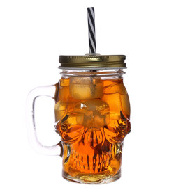Puckator Skull Mason Jar