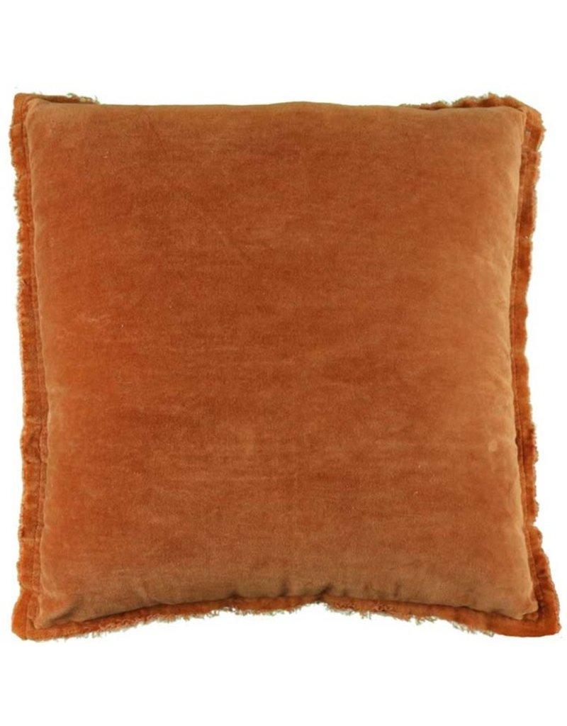 Unique Living Kussen Feline Leather Brown