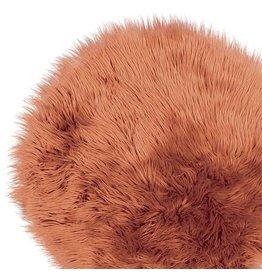 Unique Living Floormat Fake Fur Hazel Brown