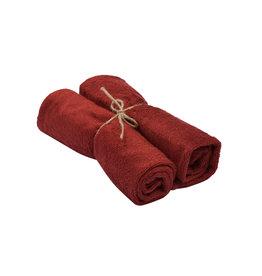 Timboo Handdoek M per 2 Rosewood
