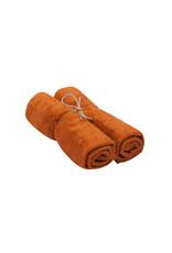 Timboo Handdoek M per 2 Inca Rust