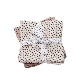 Done by Deer Burp Cloth 2-pack Powder