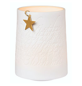 Räder Porcelain Light Golden Star