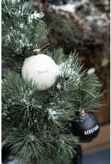 Zusss Doosje Kerstballen Krijt