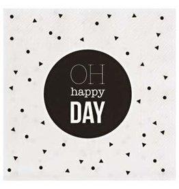 Räder Cocktail Napkin Happy Day