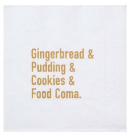 Räder Cocktail napkin Gingerbread