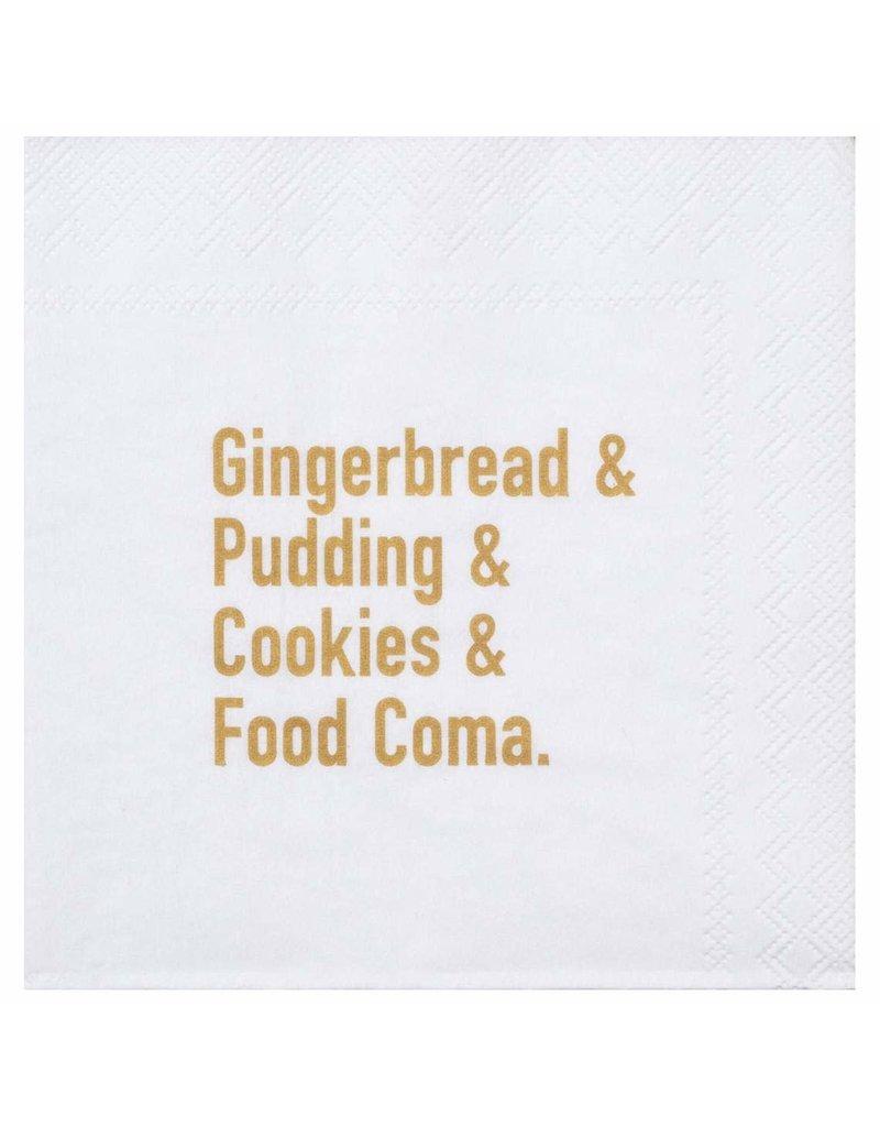Räder Cocktail napkin Gingerbread