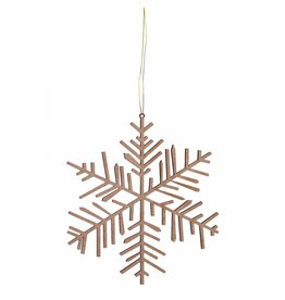 Räder Ice & Snow Wooden Ornament Medium