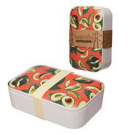 Puckator Lunch Box Bamboo Avocado