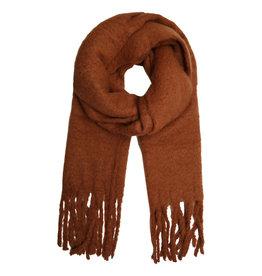 Warme Wintersjaal Camel