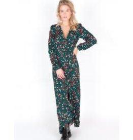 Dress leopard green