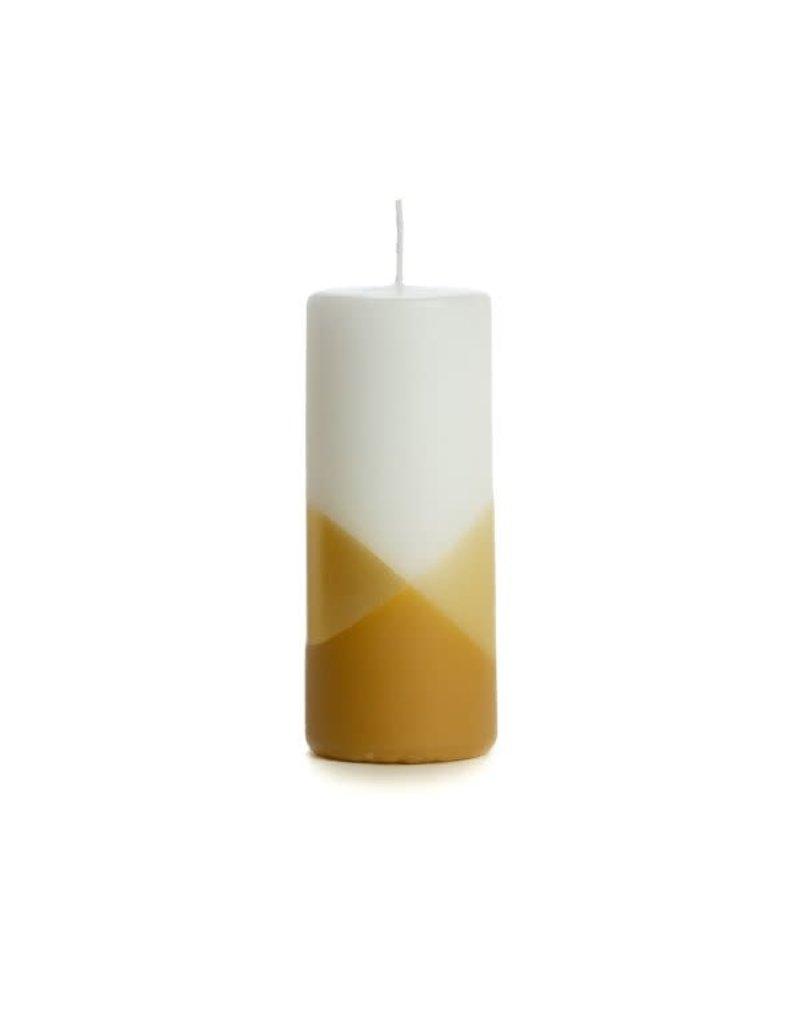 Rustik Lys Kaars Cross Zand