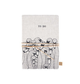 Zusss Notitieboek met veter To Do