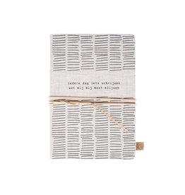 Zusss Notitieboek met veter Iedere Dag