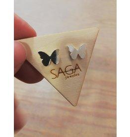 Saga Butterflies Silver