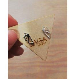 Saga Geo Wings Silver