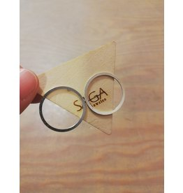 Saga Circles Silver