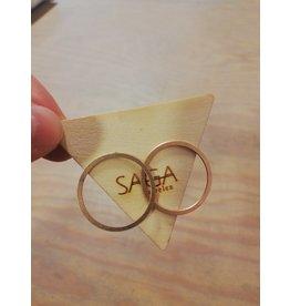 Saga Circles Rosé Gold
