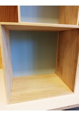 Display box hout/mint L