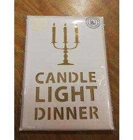 Räder Kaart candle light dinner