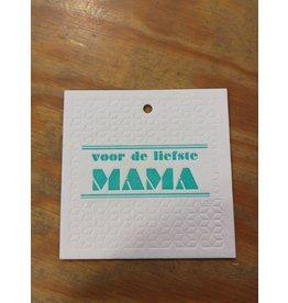 Cadeaukaartje voor de liefste mama
