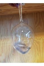 Madam Stoltz Hanger glas pluimen