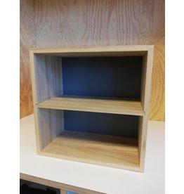 Display box grijs