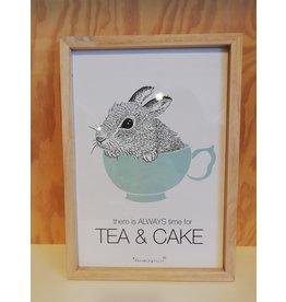 Frame tea time