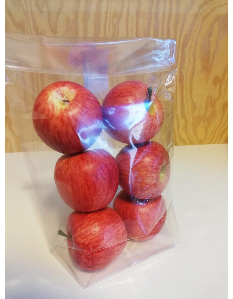 Deco appels rood