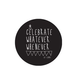 Stickers Celebrate 11 cm per 2