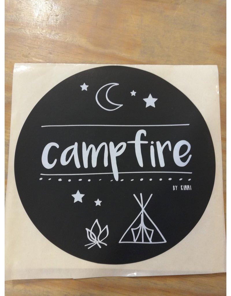 Stickers Campfire 11 cm per 2