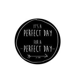 Stickers Perfect Day11 cm per 2