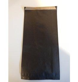 Kraftzakje zwart 17 x 7 x 35 cm