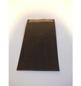 Kraftzakje zwart 12 x 4,5 x 20 cm
