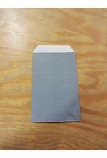 Kraftzakje grijs 7 x 10 cm