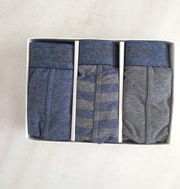 Eskimo Max blauw grijs 04.44.00233 (3stuks)